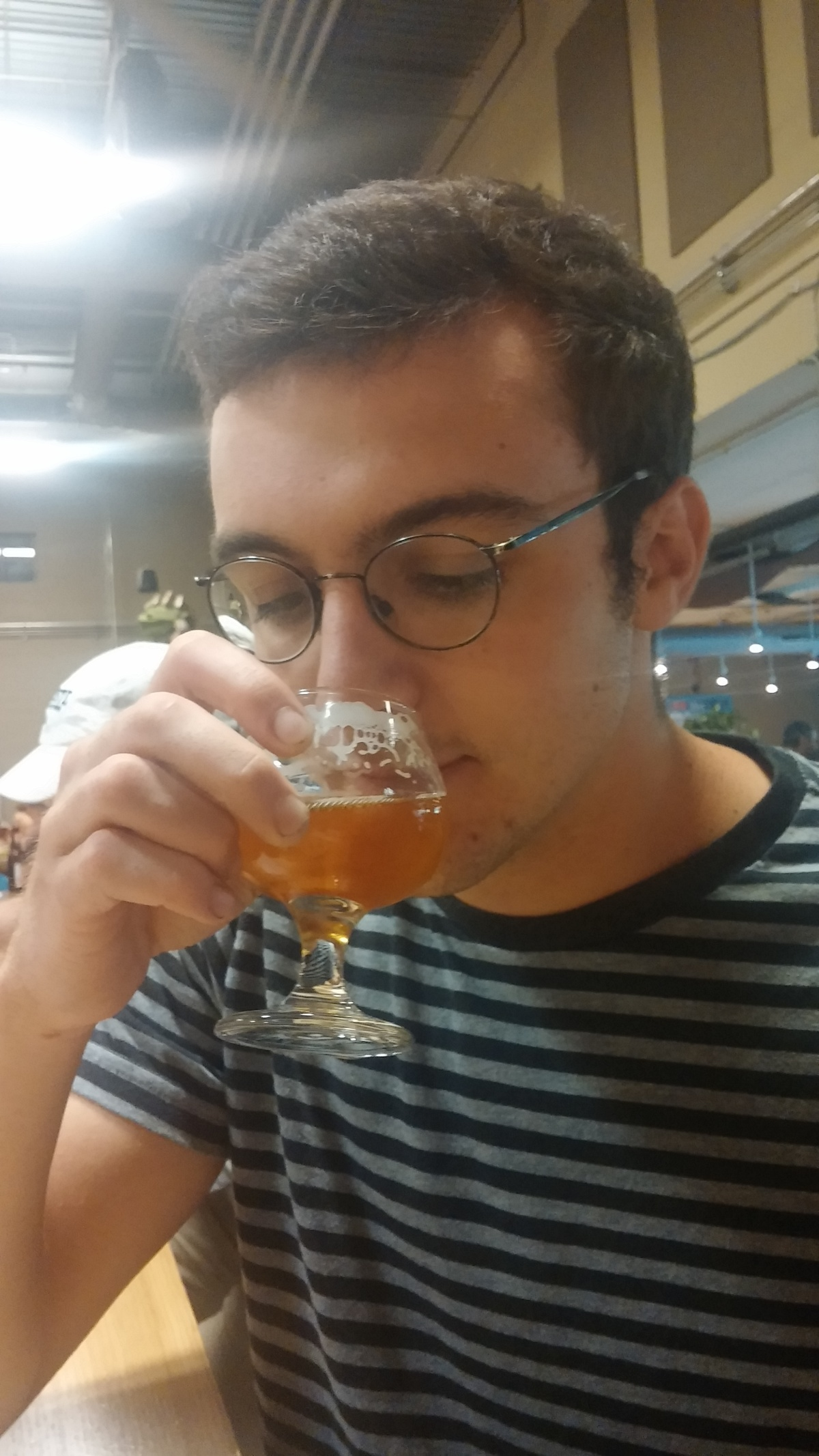 dan and beer