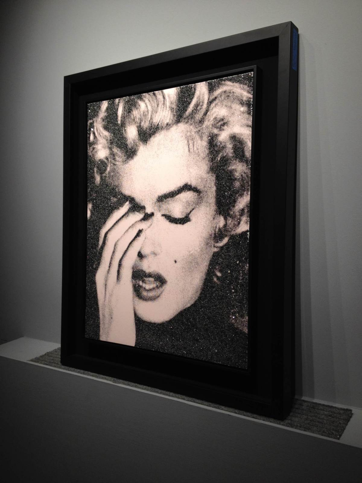 Russell Young, Marilyn Crying, 2013
