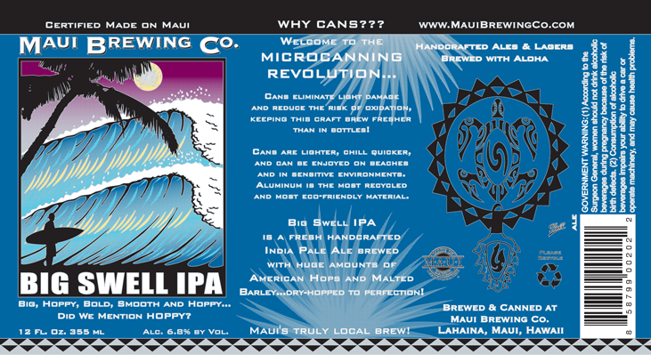 Photo Credit: Maui Brewing Company